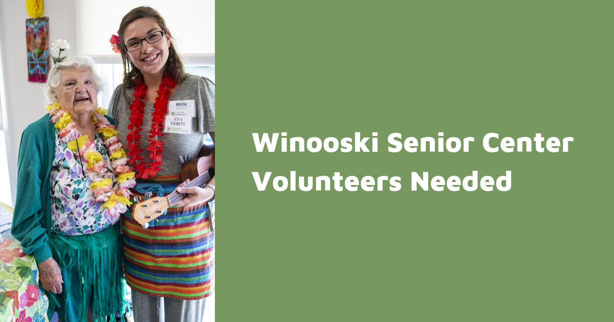 Senior Volunteer Ask