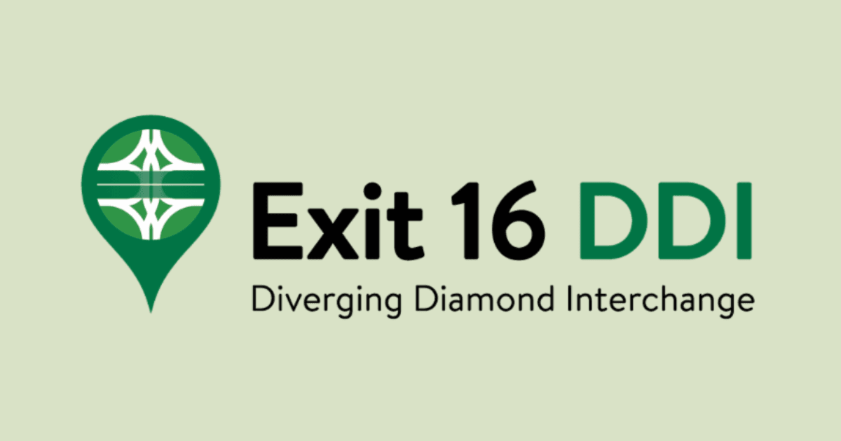 Exit 16 DDI Project Logo
