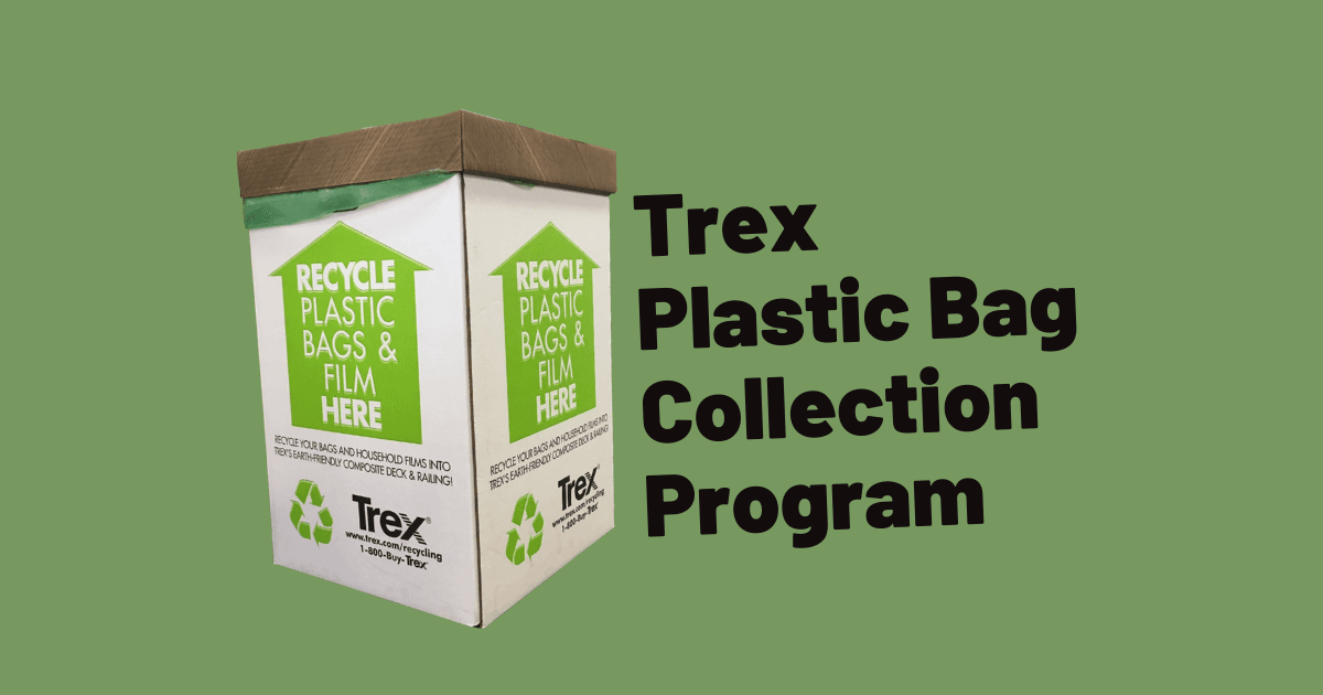 Trex Plastic Bag Program